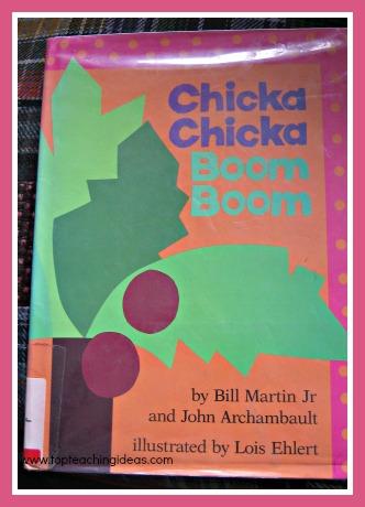 Chikca Chicka Boom Boom Rainforest Vocabulary Activities