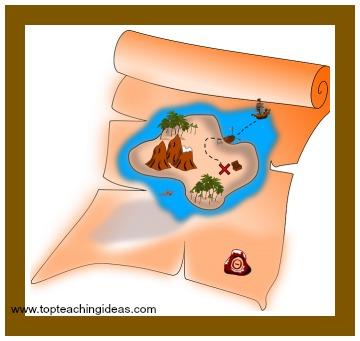treasure-map-pirate-theme