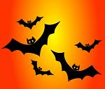 bat hand prints