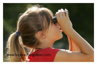 binoculars-birds-teaching-theme