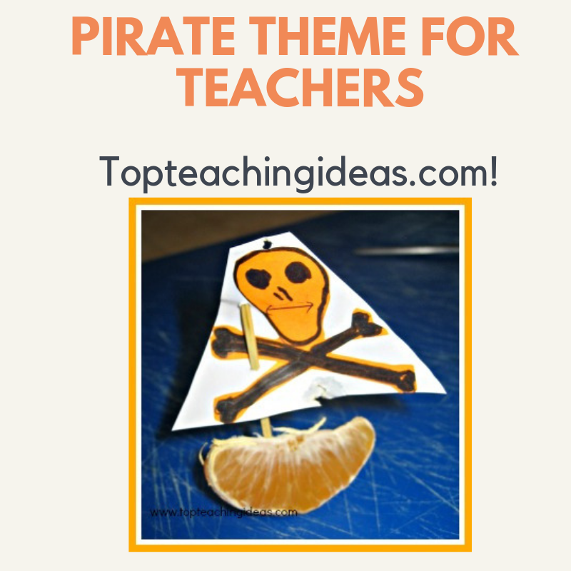 Pirate teaching theme  Great teaching ideas to inspire the