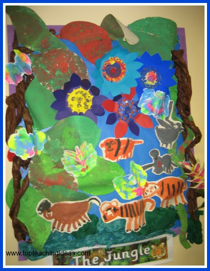 Rainforest theme ideas for preschool and Kindergarten kids