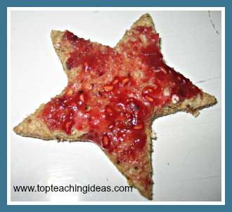 Space Activities for Kids - edible stars