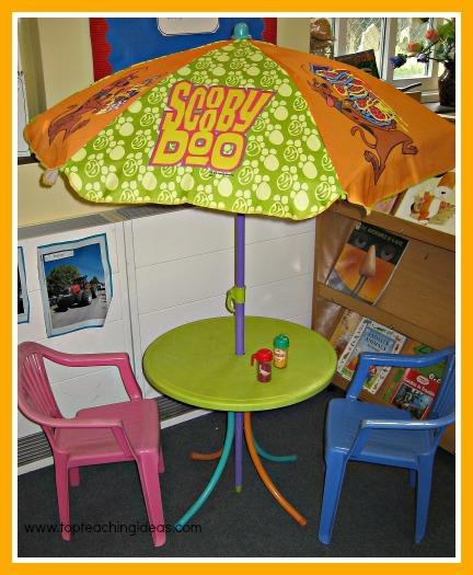 summer activities for kids umbrella